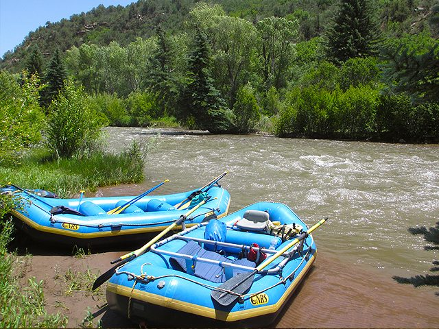 Rafting the San Miguel River